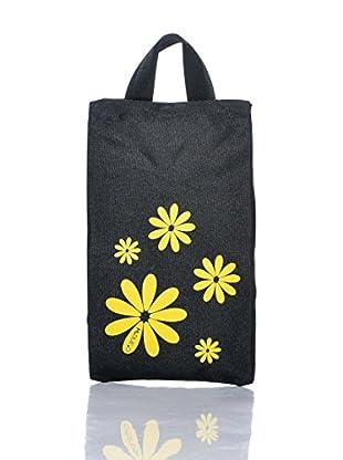 H.Due.O Borsa Hippy Flowers Giallo