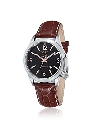 CCCP Men's CP-7010-03 Shchuka Brown/Black Watch