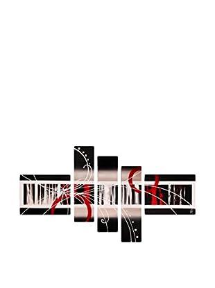 Arte dal Mondo  Wandbild 5er Set Edgar Ramirez Astratto