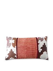 "Jiti Turkish Tiles Pieces 12"" x 20"" Pillow (Red Multi)"