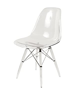 Stilnovo Mid-Century Eiffel Dining Chair, Clear