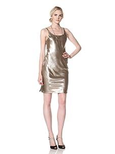Natori Women Sleeveless Dress (Gold)