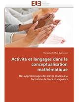 Activite Et Langages Dans La Conceptualisation Mathematique (Omn.Univ.Europ.)