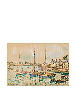Legendarte Leinwandbild Paul Signac - Le Conquet