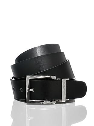 Versace Collection Cinturón Guiseppe (Negro / Marrón)