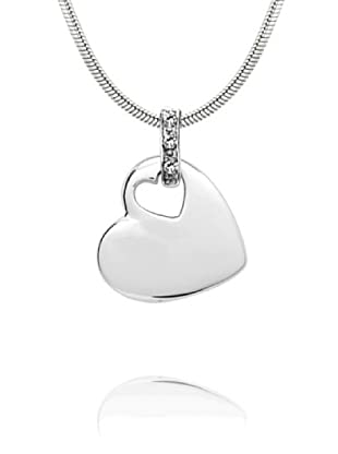 Secret Diamonds Colgante Corazón Plata 925 Diamante