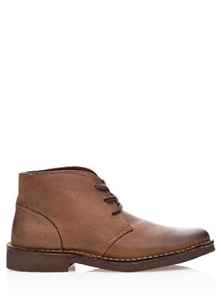 Dockers Zapatos de Cordón de Cuero (marrón)