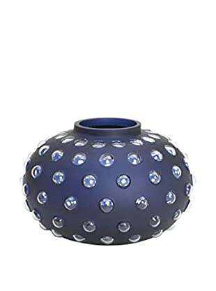 Tommy Hilfiger Hobnail Vase, Navy