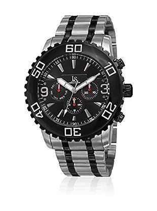 Joshua & Sons Reloj con movimiento cuarzo suizo Man JX100TTB 47 mm