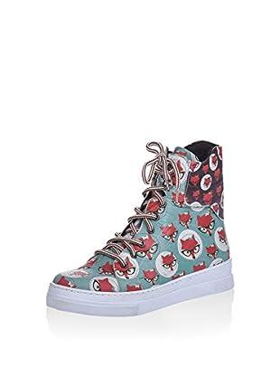 Los Ojo Hightop Sneaker Foxy