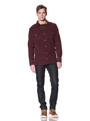 Oliver Rayn Men's Nico Corduroy Shirt (Cab)