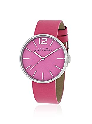 Marc by Marc Jacobs Women's MBM1363 Pink Leather Watch