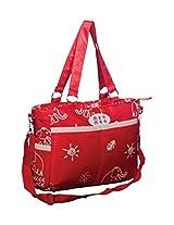 Mee Mee's MultiFunctional Nursery Bag (Red)
