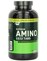 Optimum Nutrition (ON) Superior Amino 2222 - 160 Tablets