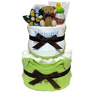人気ベビー服Carter's2点ギフト06おむつケーキ 出産祝いやお誕生日に♪