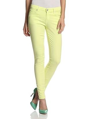 Agave Women's Chica Slim Cut Skinny Leg Stretch Twill Jean (Daiquiri)