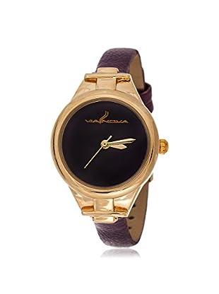 Via Nova Women's NWL270214G-PU Purple Leather Watch