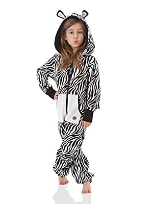 ZIPUPS kids Mono-Pijama Zebra