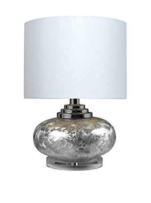 HGTV Home Frosted Finish Ceramic Table Lamp