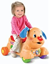 Fisher-Price Laugh and Learn Stride-to-Ride Puppy
