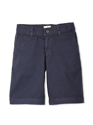 Neige Boy's Palmerston Twill Short (Navy)