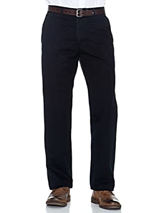 Dockers Pantalón Comfort De Algodón (Negro)