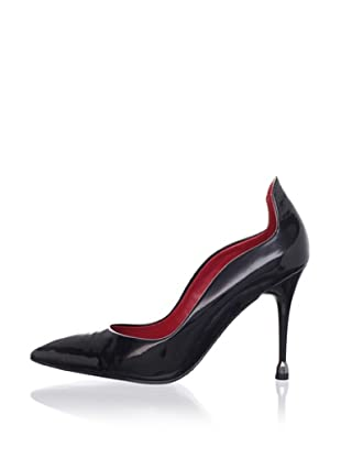 Charles Jourdan Collection Women's Edmond Pump (Black Patent)