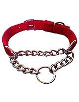 Petshop7 Red Chock Dog Collar 0.75 Inch Small