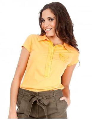Cortefiel Poloshirt Basic (Orange)