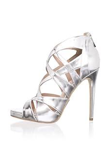 Alejandro Ingelmo Women's Via Multi-Strap Sandal (Silver)