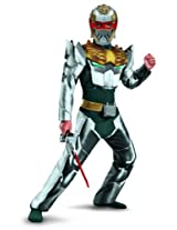 Disguise Power Rangers Megaforce Robo Knight Boy's Muscle Costume One Color/4-6 AD