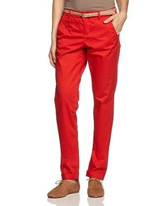 Mexx Metropolitan Pantalón Noelle (Rojo)