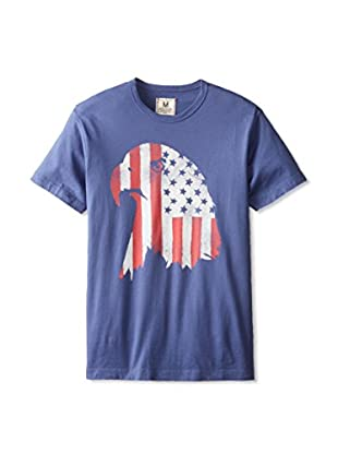 Tailgate Clothing Company Men's Eagle Flag Crew Neck T-Shirt