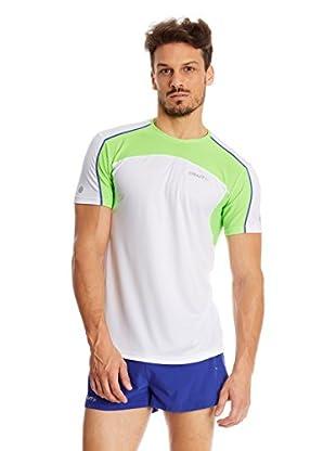 Craft T-Shirt Running Devotion weiß/grün