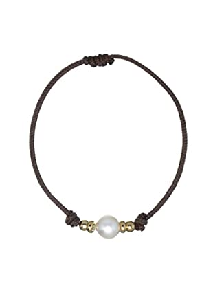 Le Perla di Emi Kaway Pulsera Giannina Plata Perla 8.50-9 mm