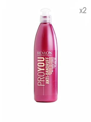 Revlon Set 2 Pro You Champús Especiales Anti Caspa 350 ml