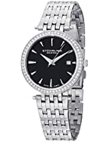 Stuhrling Original Vogue Analog Black Dial Women's Watch - 579.02