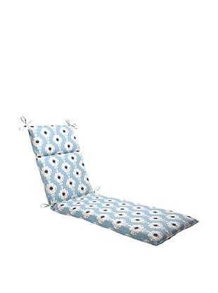 Waverly Sun-n-Shade Rise and Shine Pool Chaise Lounge Cushion (Navy/Aqua/Cream)