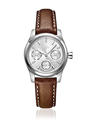 JBW Uhr mit Japanischem Uhrwerk Berkeley braun 32  mm