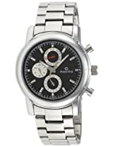 Maxima Attivo Analog Black Dial Men's Watch - 26833CMGI
