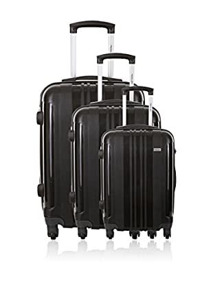 Travel One Set de 3 trolleys rígidos Barnley