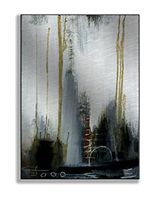 Gallery Direct T. Graham Ingot II Artwork on Mounted Metal