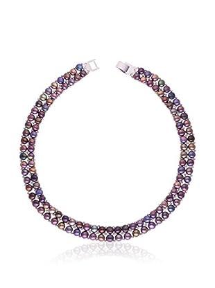 Pearl Addict Halskette schwarz