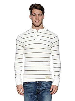 Abercrombie & Fitch Longsleeve Classic Henley (creme)