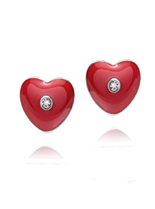 Secret Diamonds 60250134 - Pendientes de mujer de plata de ley con 2 diamantes