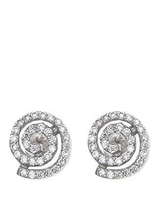 Córdoba Joyeros Pendientes Espiral Diamantado