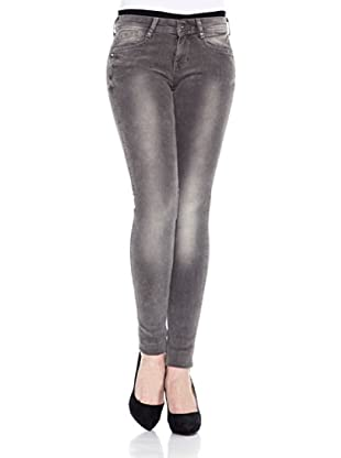 Pepe Jeans London Pantalón Siouxie (Gris)