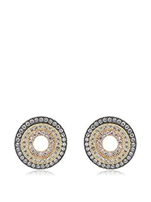 CZ BY KENNETH JAY LANE Ohrringe Round Pave