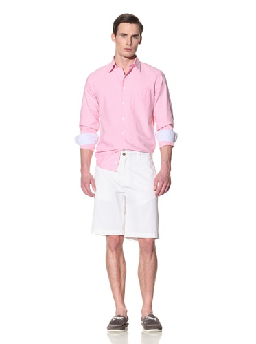 Tailor Vintage Men's Walking Shorts (White)