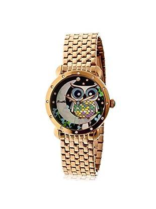 Bertha Women's BTHBR3010 Ashley Rose Gold/Multicolor Stainless Steel Watch